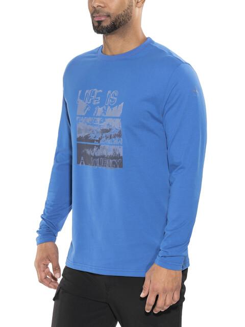 High Colorado Wallis 2 Longsleeve Herren blau